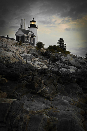 Obviously this isn't Raleigh.  This is Pemaquid lighthouse in Maine, shot on tour with Light Fantastic Photo Tours